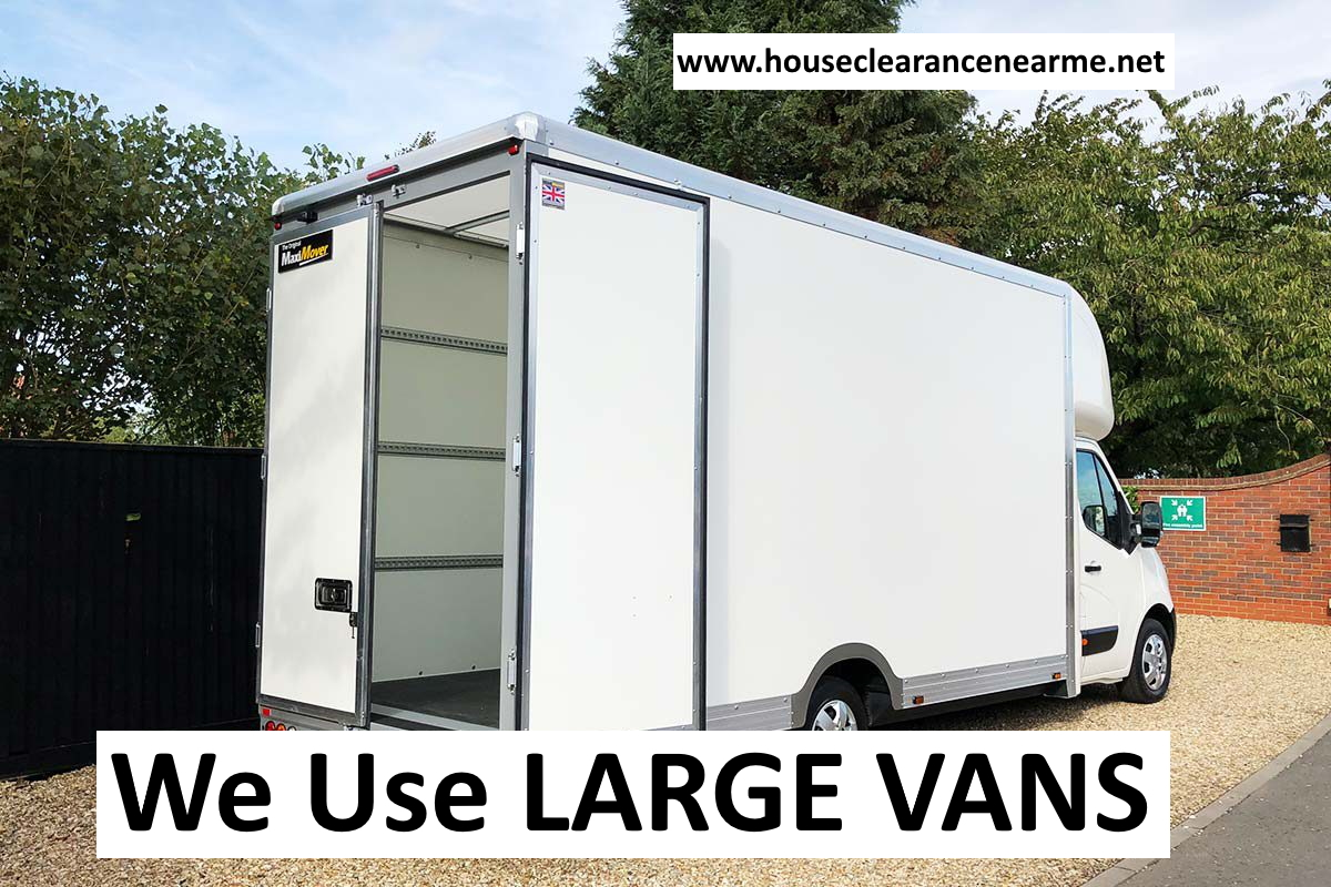 We Use Large House Clearance Vans