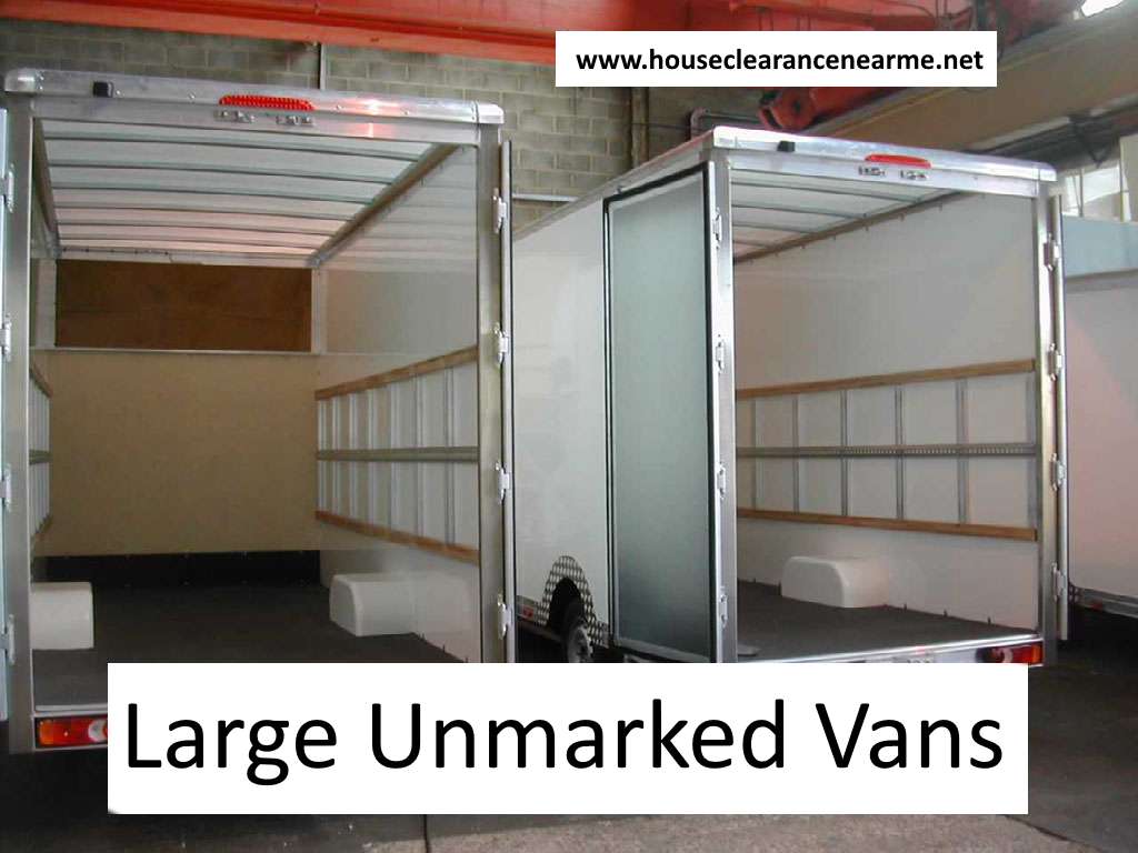 We use LARGE house clearance vans and pack BIG loads
